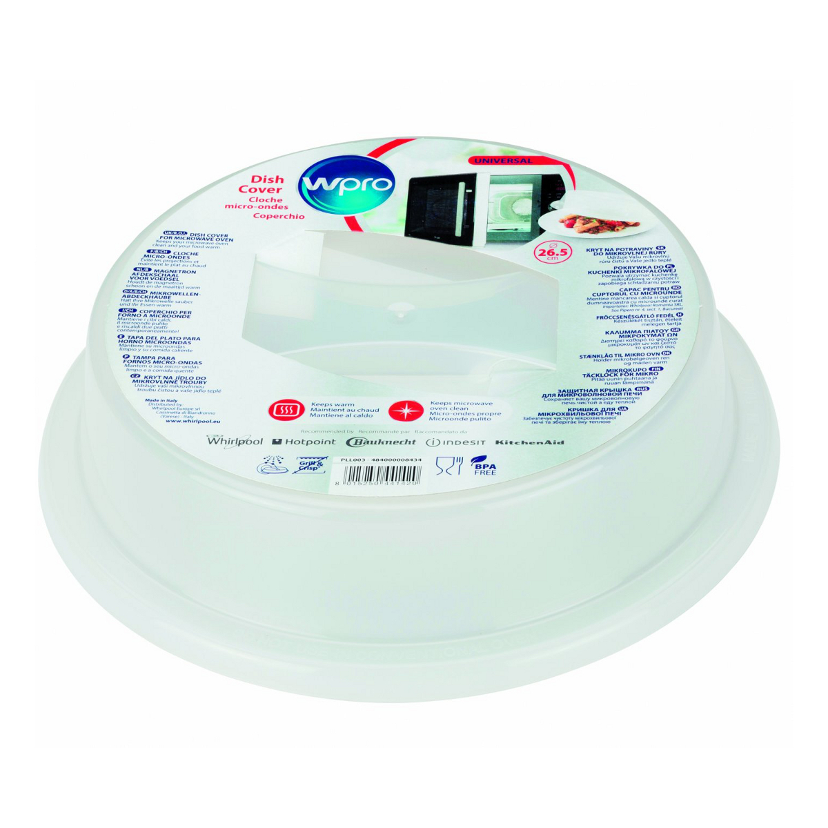 wpro c00335164 dish cover for microwave use 26