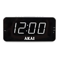 "A61019 AM/FM Jumbo Alarm Clock Radio with Easy to Read 1.8"" LED Display"