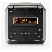 Image of ROBERTS Sound 48 DAB / FM Bluetooth Radio - Black, Black