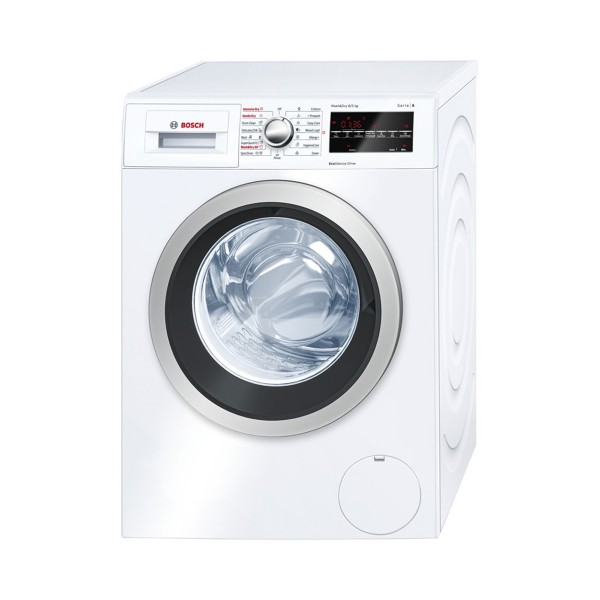Compare retail prices of Bosch WVG30461 Washer Dryer 8kg Wash Load 5kg Dry Load 1500 RPM Spin in White to get the best deal online
