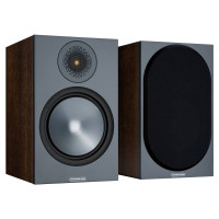 BRONZE 100 Bookshelf Speakers in Walnut