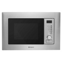HOTPOINT MWH1221X Built-in Microwave with Grill - Stainless Steel