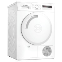 Image of BOSCH Serie 4 WTH84000GB 8 kg Heat Pump Tumble Dryer - White, White