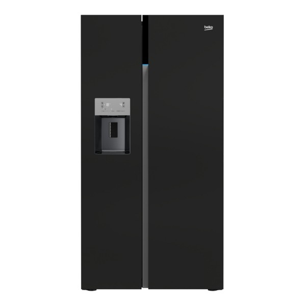 Compare retail prices of Beko ASGN542B Fridge Freezer with 544L Capacity and Energy Rating in Black to get the best deal online