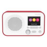 Elan E3 Portable DAB/FM Radio - Red