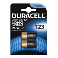 DL123B2 2 Pack 3V Ultra Lithium Batteries