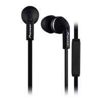 SECL712 In-Ear Headphones with In-Line Microphone in Black