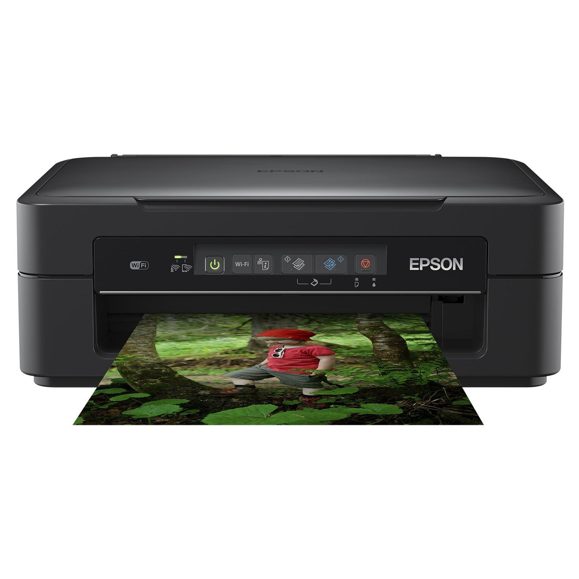 Epson Xp255 Wireless All In One Colour Inkjet Printer Hughes
