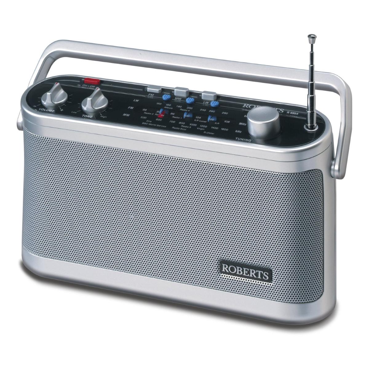 Range Style Cookers >> Roberts Radio R9954 Classic 954 Portable FM/MW/LW Radio | Hughes