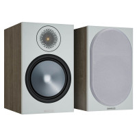 BRONZE 100 Bookshelf Speakers in Grey