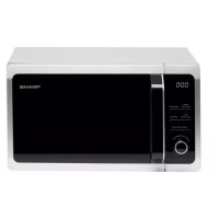 SHARP R274SLM Solo Microwave - Silver