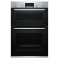 Serie 4 MBS533BS0B 105L Electric Built-In Double Oven