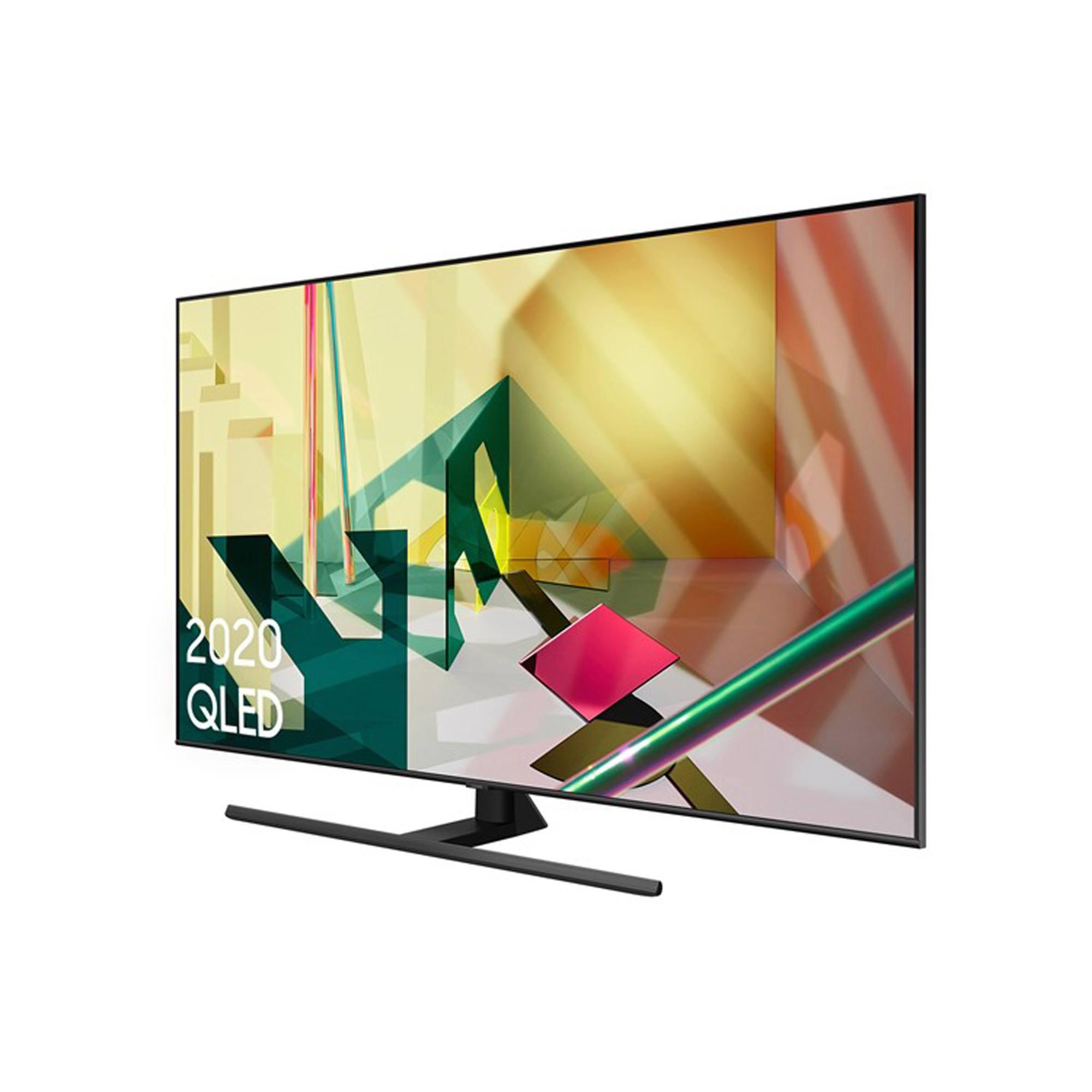 "Samsung QE55Q70T 55"" QLED 4K Quantum HDR Smart TV with Tizen OS"