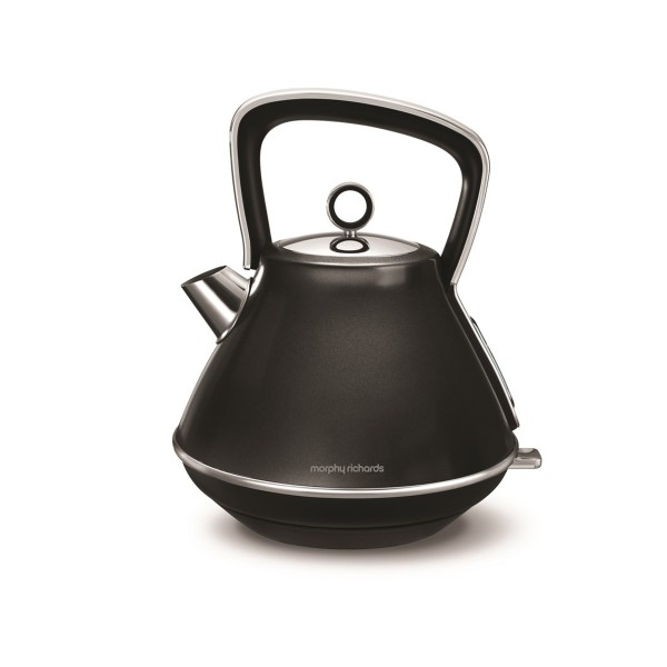Compare retail prices of 100105 1.5L Evoke Pyramid Kettle - Black to get the best deal online