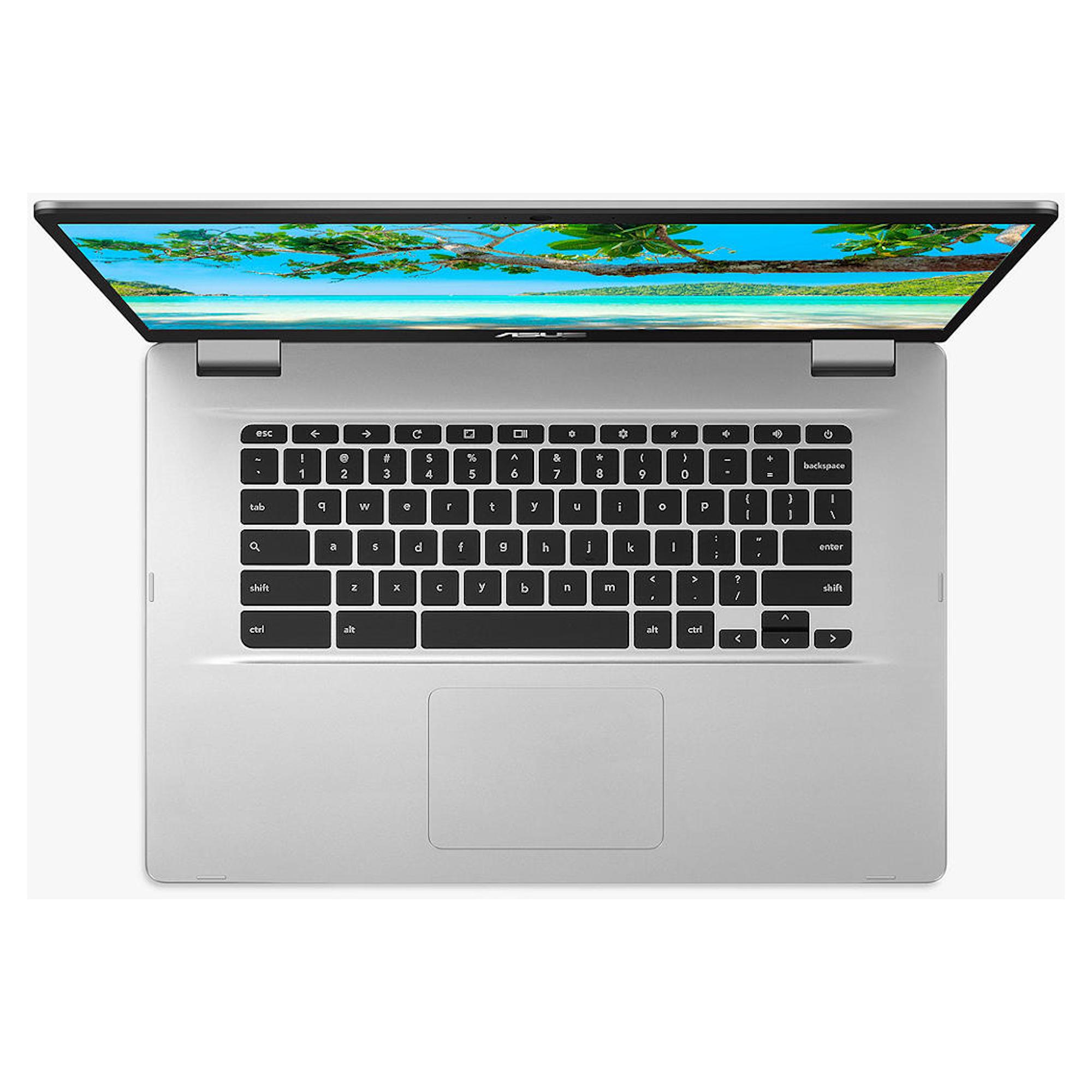 "ASUS C523NA 15.6"" Touchscreen Chromebook 4GB Intel Pentium Processor"
