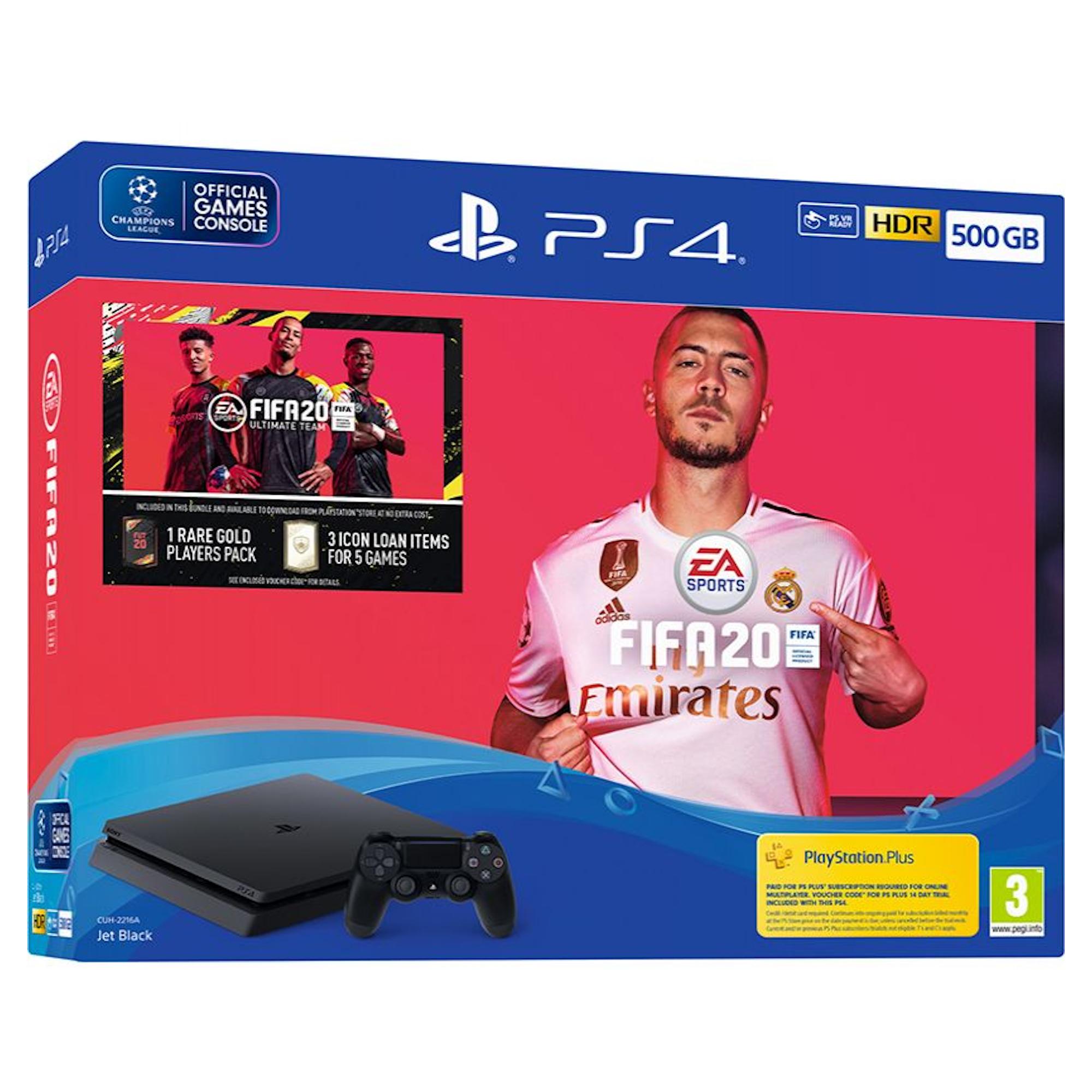 Sony Playstation 4 500gb Fifa 20 Bundle Hughes