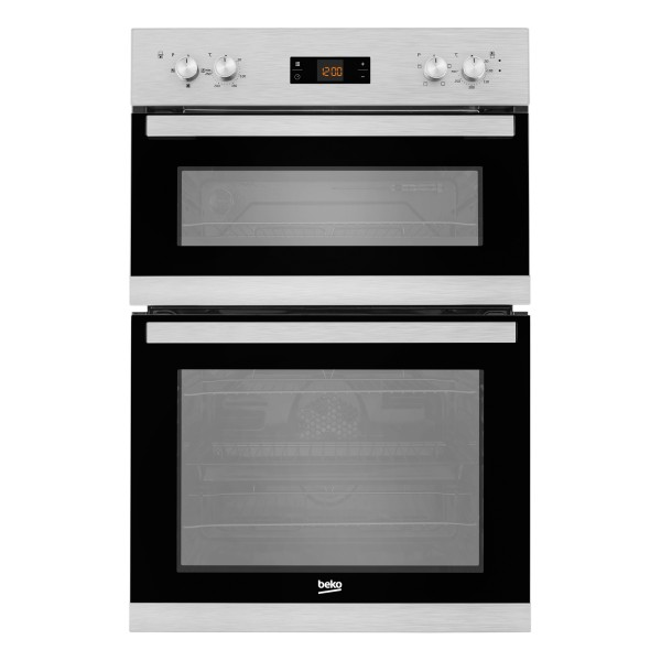 Compare retail prices of Beko BADF22300X 594mm Electric Double Oven with 104L Capacity in Stainless Steel to get the best deal online