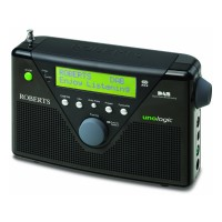 Image of DAB/FM Radio Rechargeable USB RDS Black