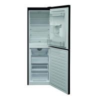 HBNF 55181 B AQUA UK 50/50 Split Frost Free Fridge Freezer with Water Dispenser - Black