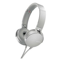 Sony MDR-XB550AP Extrabass Headphones - White Best Price and Cheapest