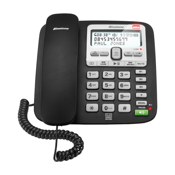 Compare retail prices of Binatone ACURA3000 Corded Telephone with Call Blocker to get the best deal online
