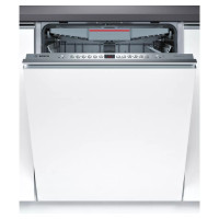 Bosch Serie 4 SMV46KX01E Fully Integrated Standard Dishwasher - Stainless Steel Control Panel with Fixed Door Fixing Kit - A++ Rated