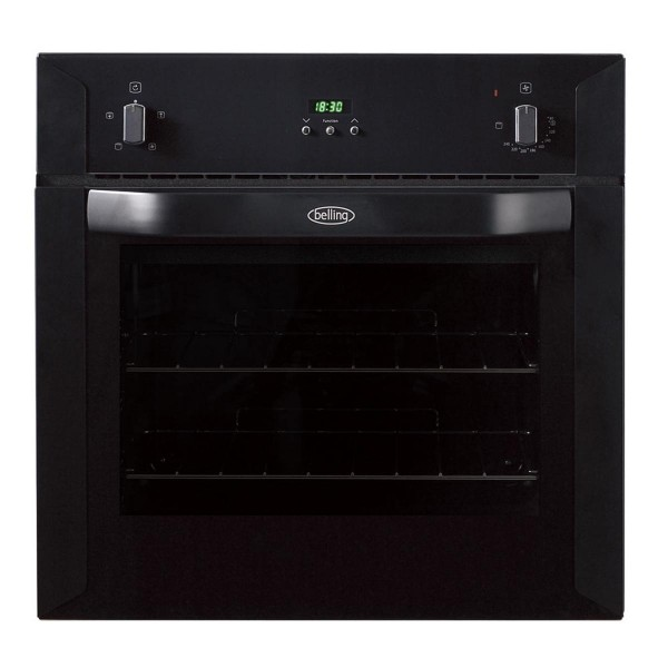 Compare cheap offers & prices of Belling BI60FPBLK 595mm Electric Single Oven with 58L Capacity in Black manufactured by Belling