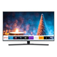 Samsung UE50RU7400 (2019) HDR 4K Ultra HD Smart TV, 50 with TVPlus/Freesat HD & Apple TV App, Titan Gray