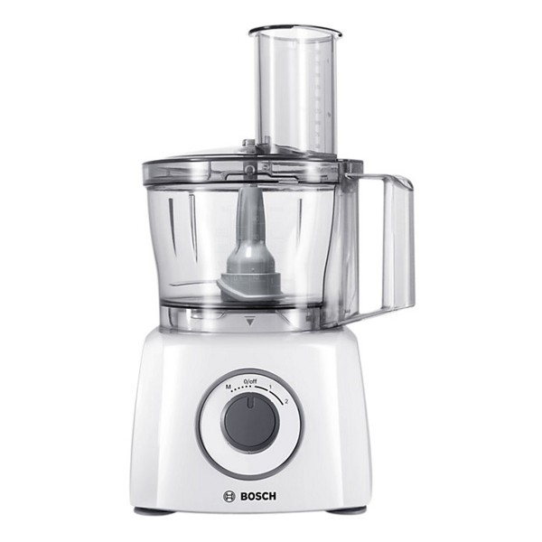 Compare retail prices of Bosch MCM3100WGB MultiTalent 3 Compact Food Processor with 2.3L Working Capacity and 700W Power to get the best deal online