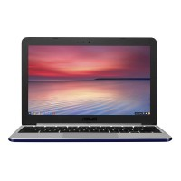 """Image of ASUS C201 11.6"""" Chromebook - Silver, Silver"""