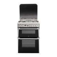 Indesit ID60G2X Gas Cooker, Stainless Steel