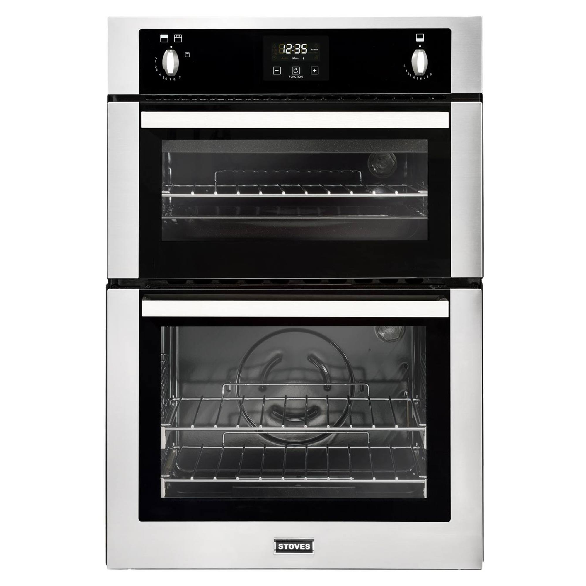Stoves Bi900gsta Gas 77l Double Oven Stainless Steel