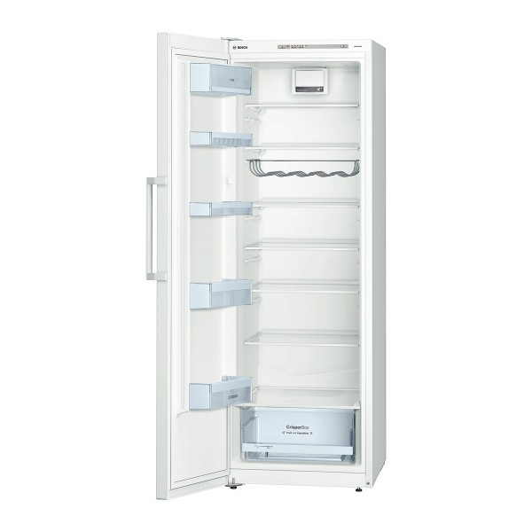 Compare cheap offers & prices of Bosch KSV33VW30G Rated Larder Fridge with CrisperBox and BottleRack in White manufactured by Bosch