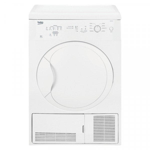 Cheapest price of Beko DC7112W 7KG Freestanding Condenser Tumble Dryer with 8 Programmes in new is £190.00