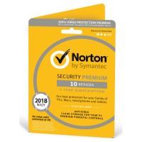 Security Premium 2018 10 Devices 1 Year Antivirus