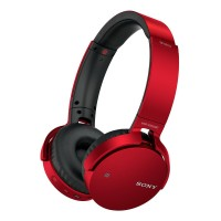MDRXB650BTR Extra Bass Bluetooth over Ear Headphones Red