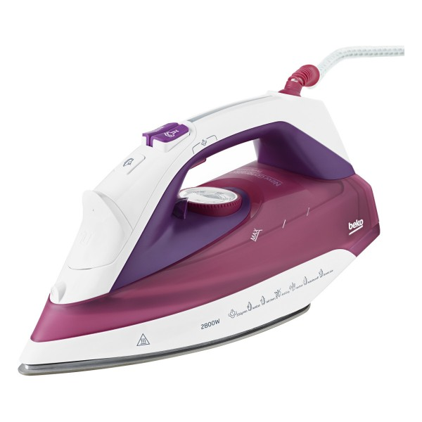 Compare cheap offers & prices of Beko SPM7128P 2800Watt Hybrid Steam Iron with 350ML Water Tank Capacity manufactured by Beko