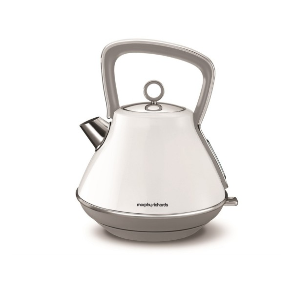 Compare retail prices of 1.5L 100109 Evoke Pyramid Kettle - White to get the best deal online