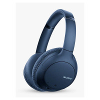 Image of SONY WH-CH710N Wireless Bluetooth Noise-Cancelling Headphones - Blue