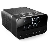 SIESTA-HOME-GR Compact All-In-One Music System Radio