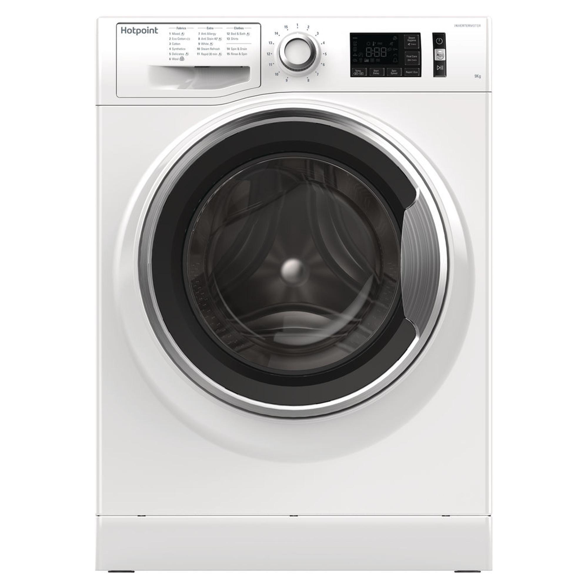 Hotpoint Activecare Nm11946wcauk 9kg Washing Machine