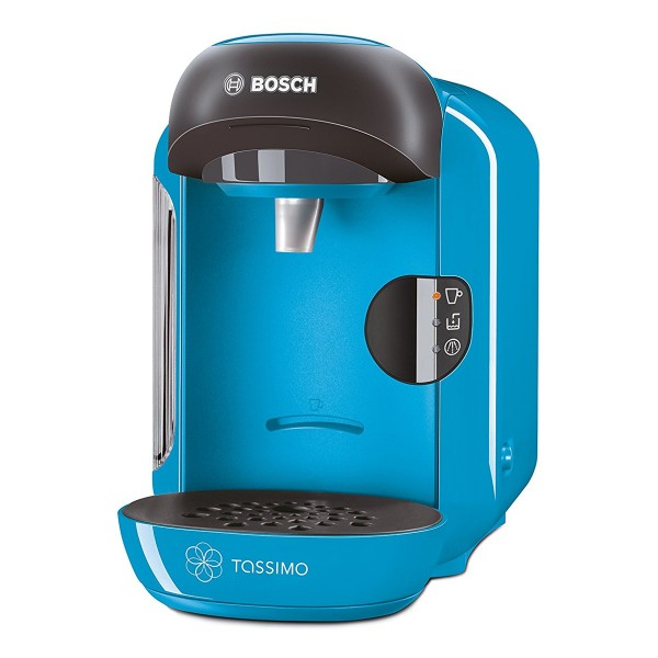 Compare cheap offers & prices of Bosch TAS1255GB Vivy II Tassimo Hot Drinks Machine with 0.7L Capacity in Blue manufactured by Bosch