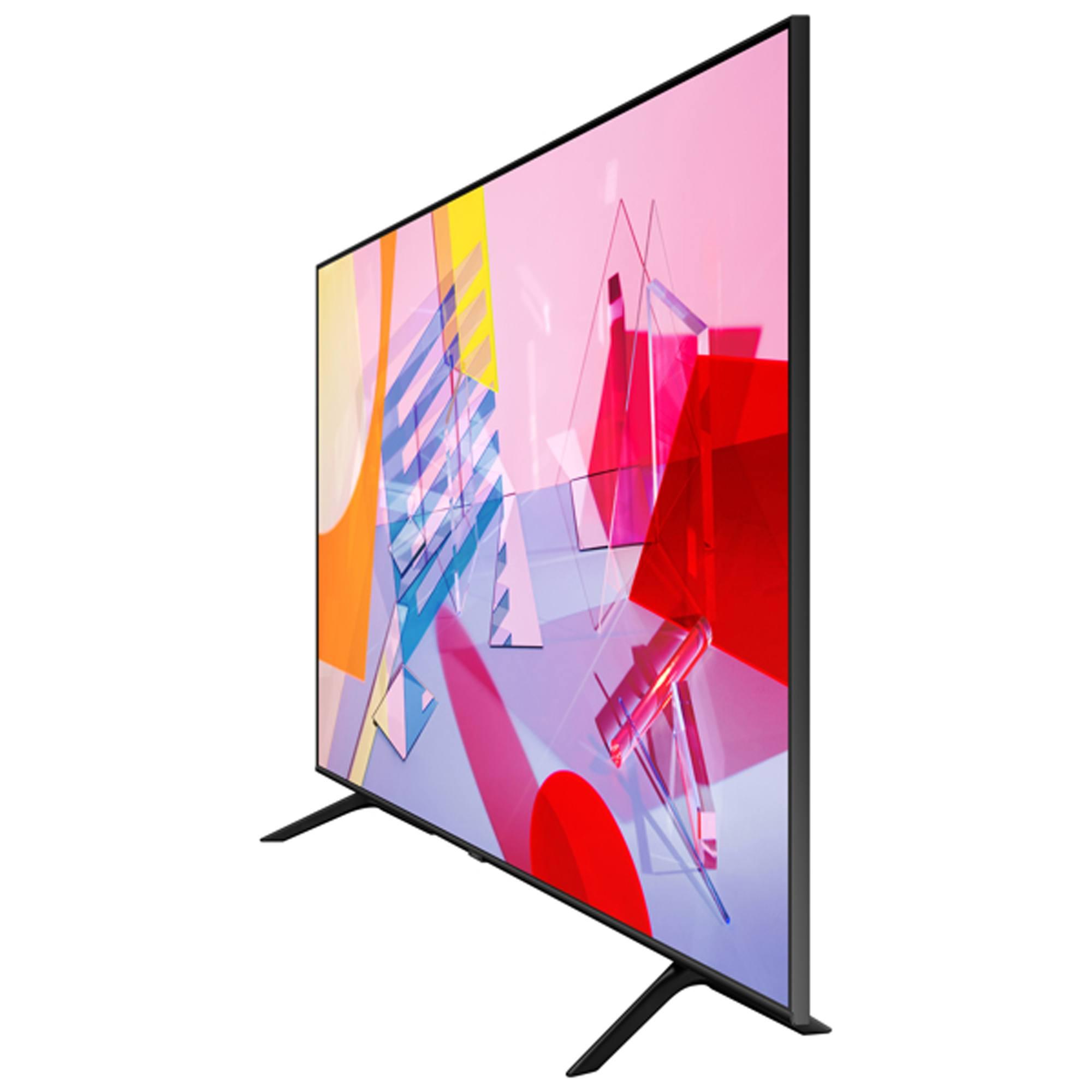 "Samsung QE65Q60T 65"" HDR 4K QLED TV with Alexa, Google & Apple TV app"
