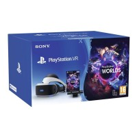 PlayStation Virtual Reality Starter Pack with Headset, Camera and VR Worlds Voucher