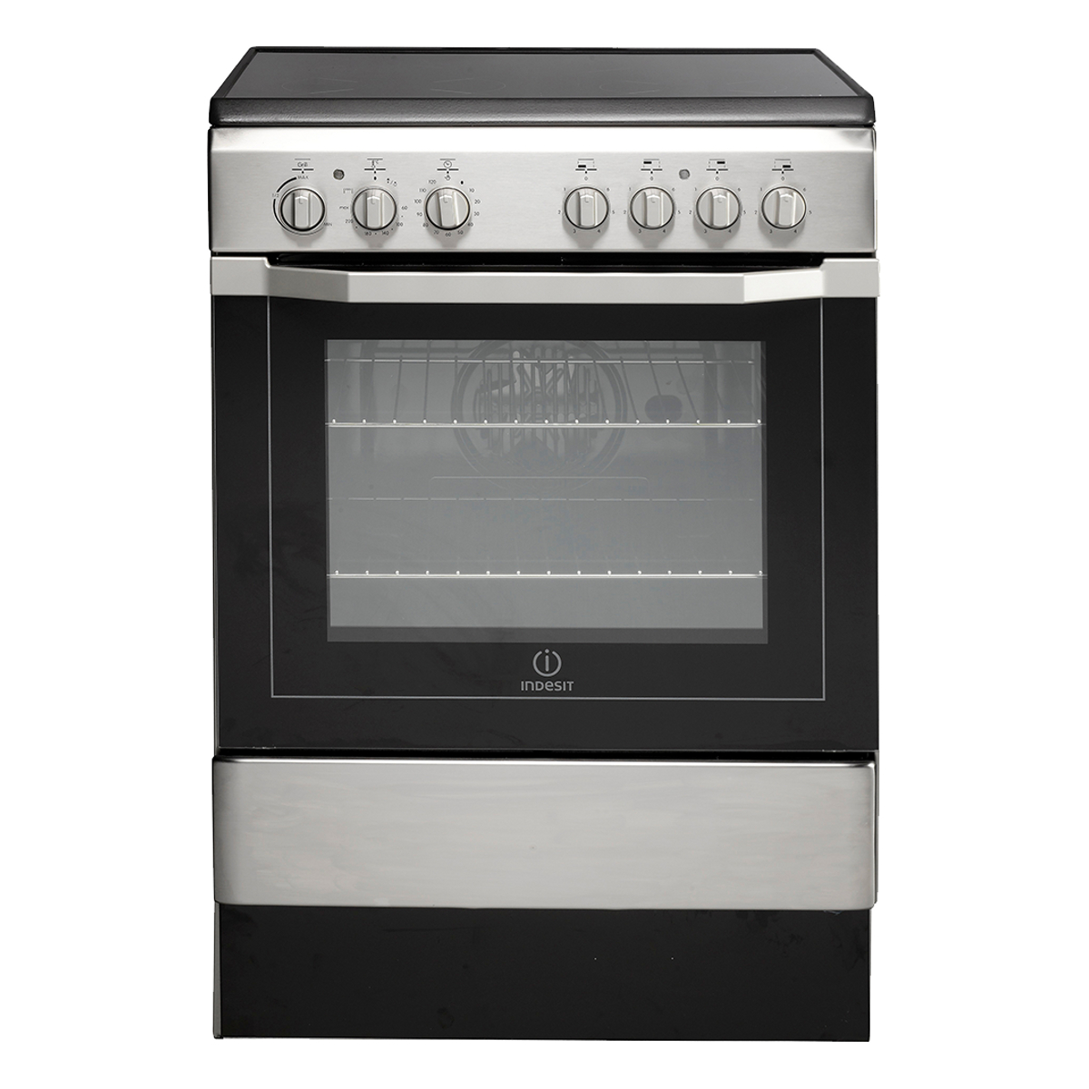 Indesit I6vv2ax Electric Cooker With Ceramic Hob Hughes