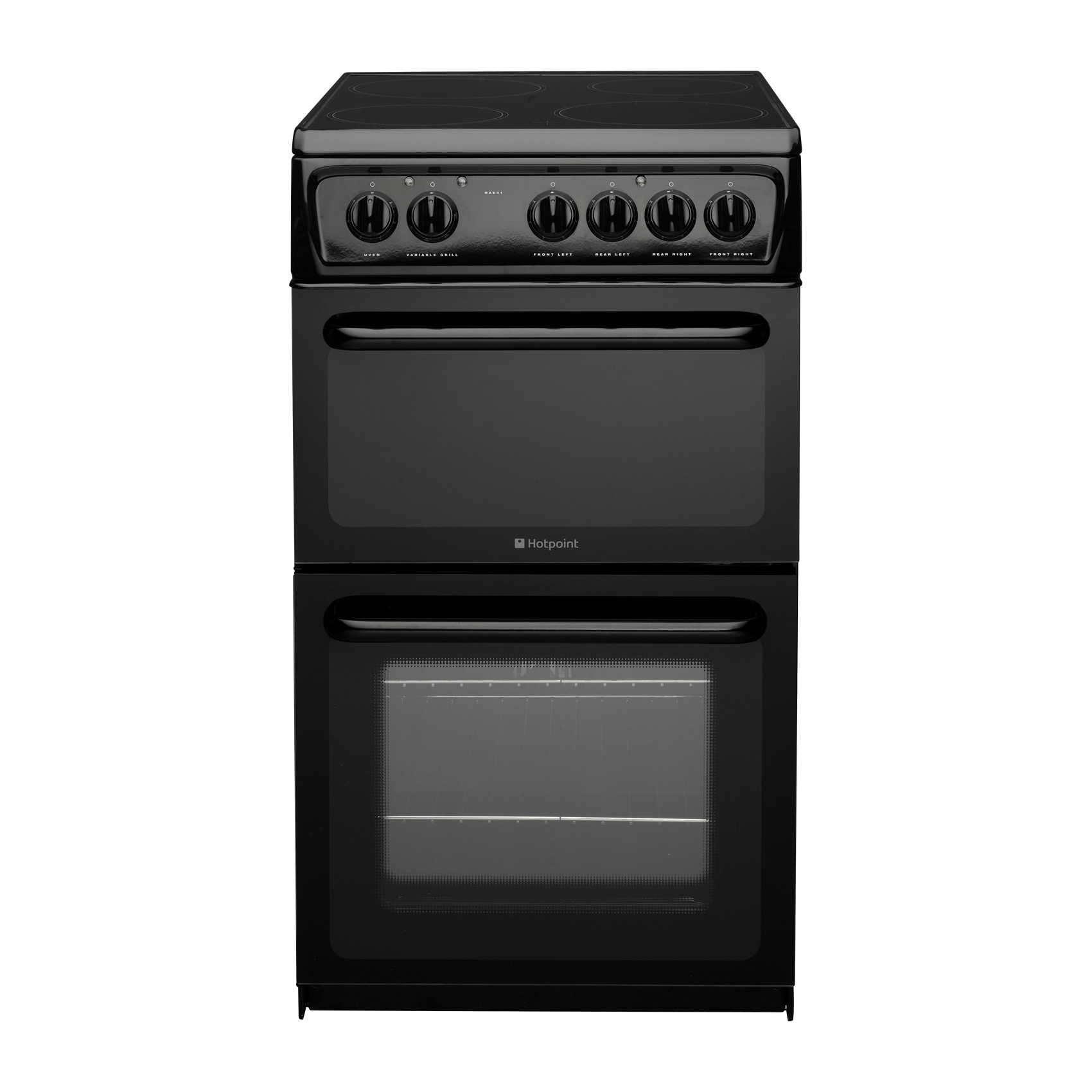 Hotpoint Hae51ks B Rated Freestanding Electric Cooker With