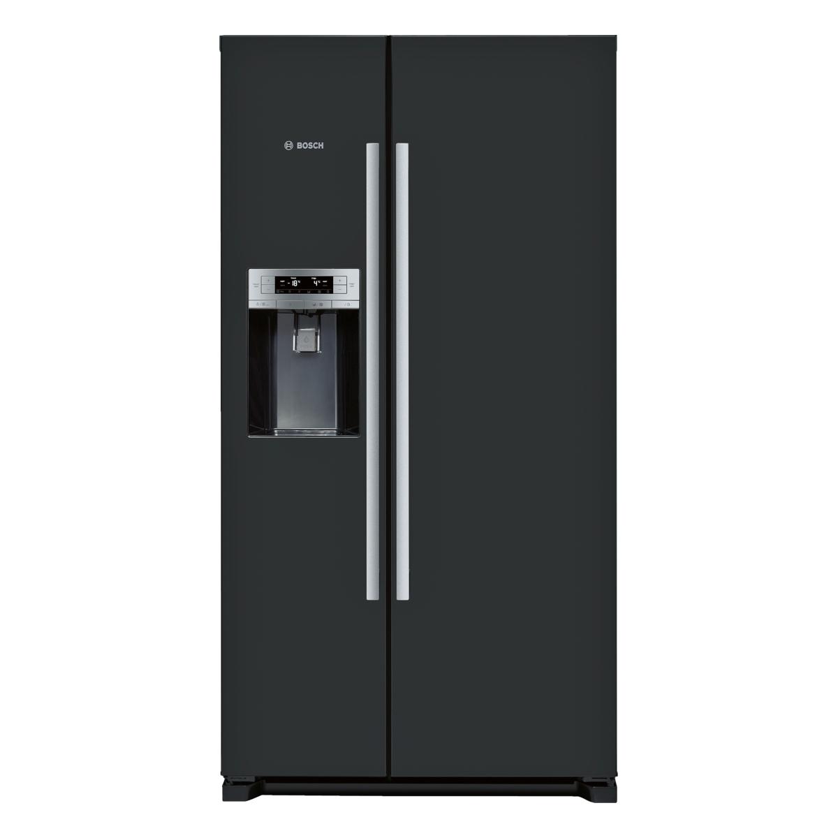 bosch serie 6 kad90vb20g american style fridge freezer hughes. Black Bedroom Furniture Sets. Home Design Ideas