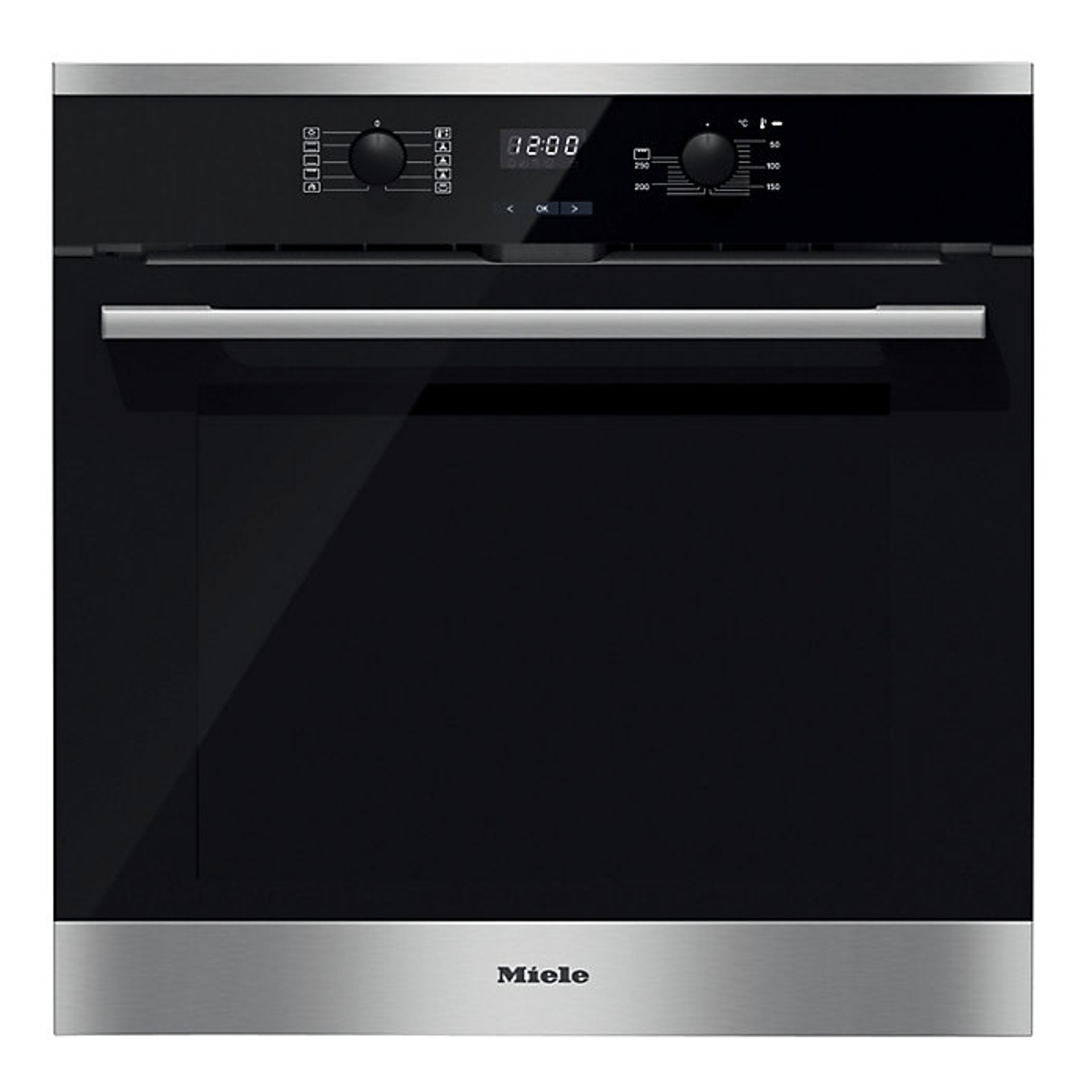 Miele H2566bpclst Built In 76l Single Oven Stainless