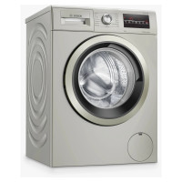 Image of BOSCH Serie 4 WAN282X1GB 8 kg 1400 Spin Washing Machine - Silver Inox, Silver