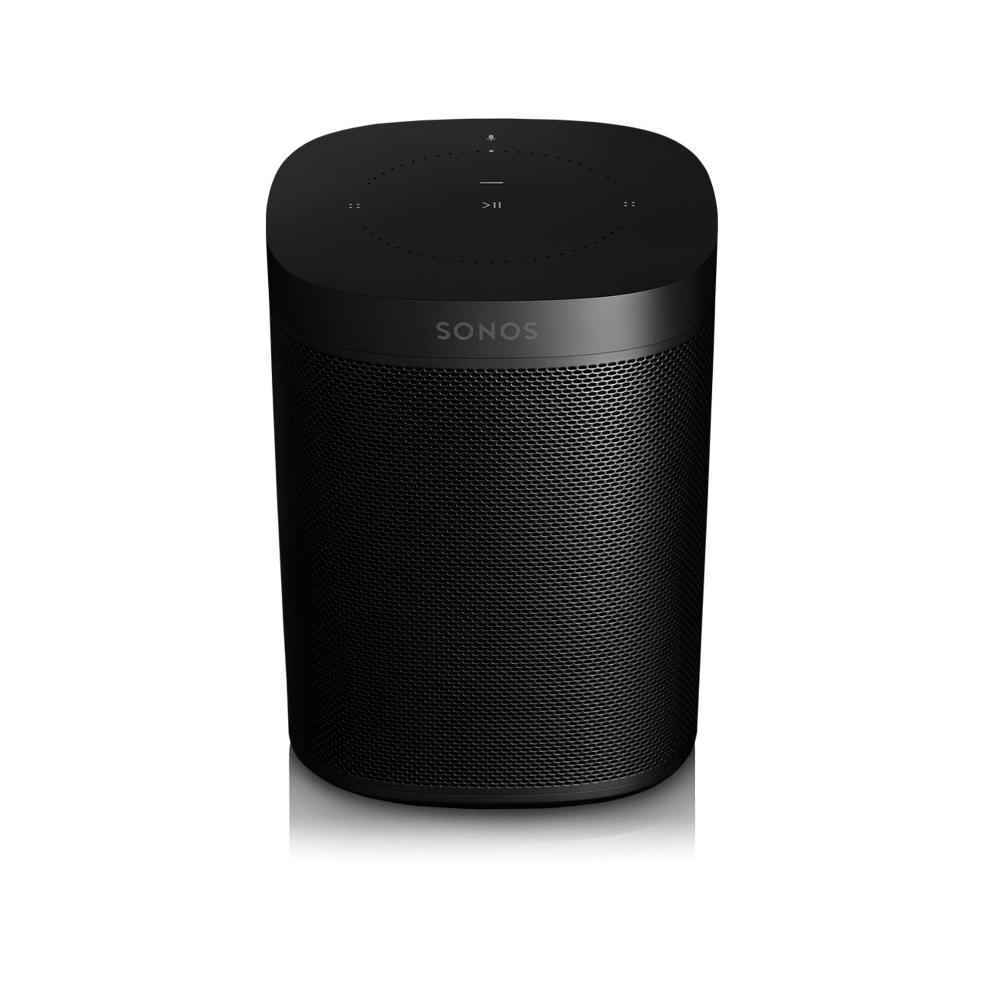 Sonos One Gen 2 Smart Speaker - Black